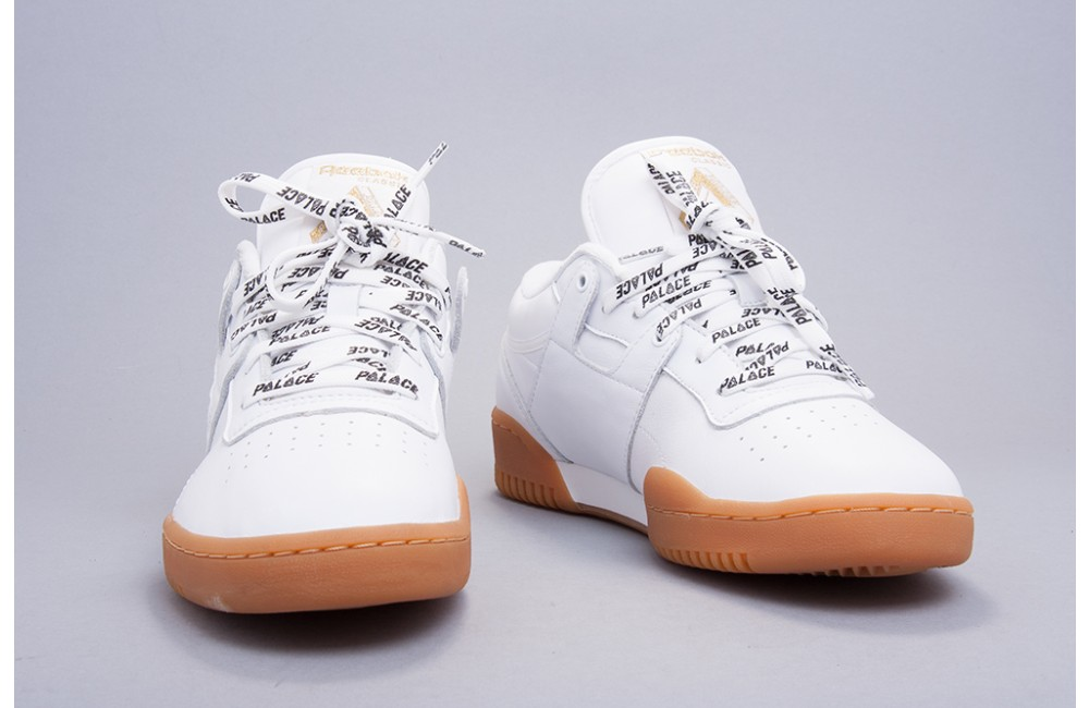 Reebok White Gum Sole